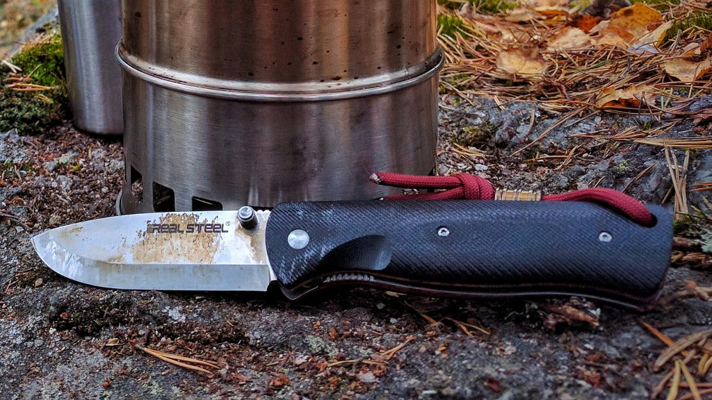 Real Steel Bushcraft Folder har bra låsning och är allmänt en bra fällkniv