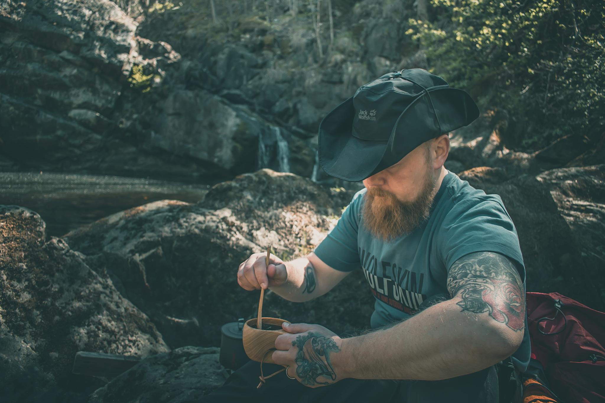 kaffe i skogen